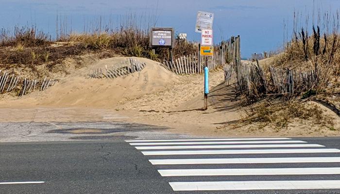 obx beach access in kill devil hills hayman blvd