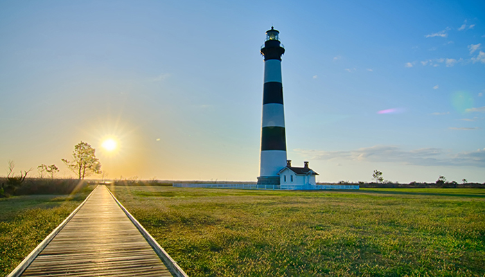 bodie island lighthouse - obx lighthouses