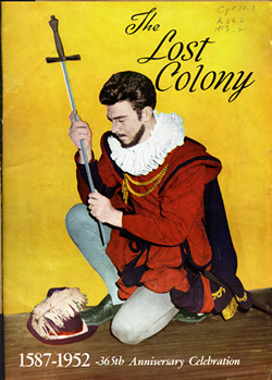 program_1952_lost_colony_andy_griffith_sir_walter_raleigh