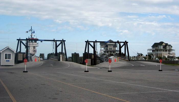 scenic waterside drive obx hatteras ferry dock