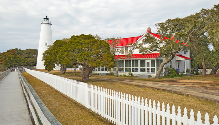 couples trip to the obx - visit ocracoke island