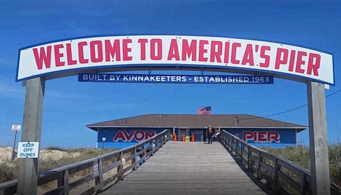 scenic waterside drive obx avon pier