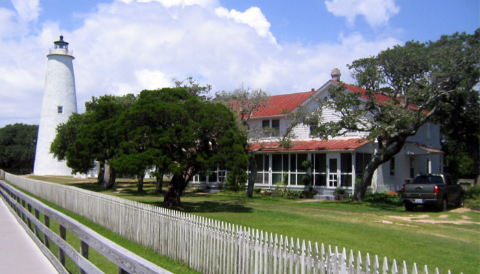 ocracoke island lighthouse - obx lighthouses