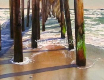 """Watercolors"" by Mary Edwards - Art Exhibit"