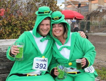 holiday, St. Patrick's Day, St. Patty's Day, run, mile, race