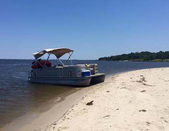obx pontoon boats