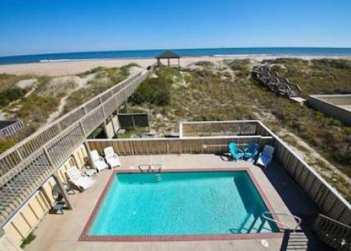 obx rentals with private pool