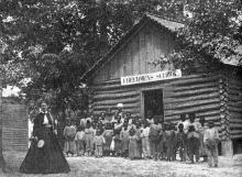 Freedmens Colony Schoolhouse on Roanoke Island