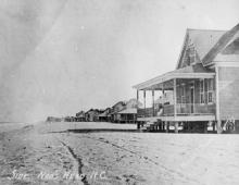 Outer Banks Throwback: Nags Head Beach Cottage Row Historic District