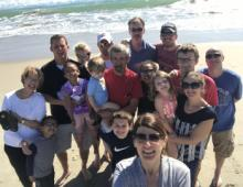 top 10 selfie spots - selfie on the obx beach
