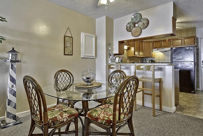 Sands Shamrock Makeover - Dining Area