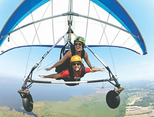 kitty hawk kites tandem hang gliding