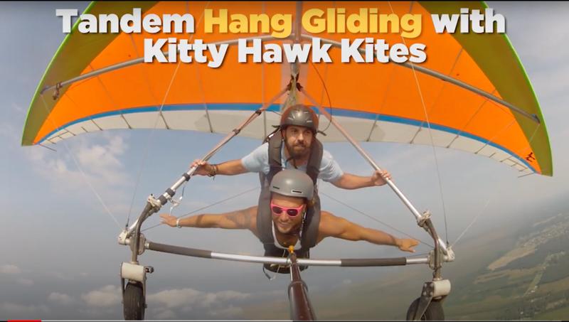 Tandem Hang Gliding Hero