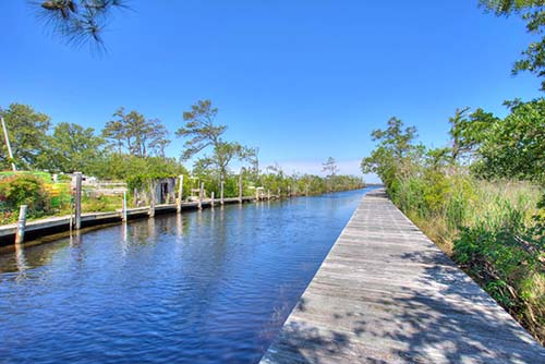 Colington Pointe Community Boardwalk