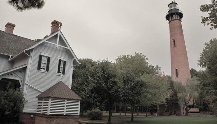 Spooky Places OBX - Currituck Beach Lighthouse
