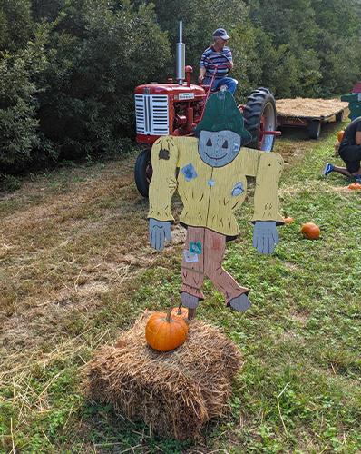 Hay ride Grandy Pumpkin Patch