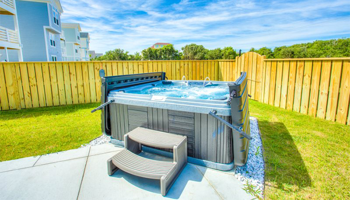 hot tub obx vacation rental