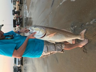 OBX Red Drum Caught off The Point in Buxton