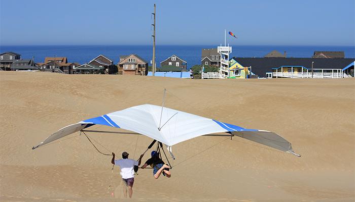 kite surfing obx
