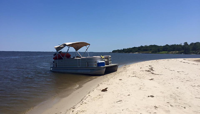 obx pontoon boats