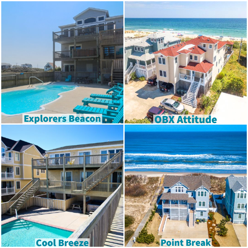 obx vacation rentals for corporate retreats