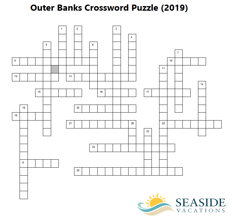 outer banks crossword puzzle