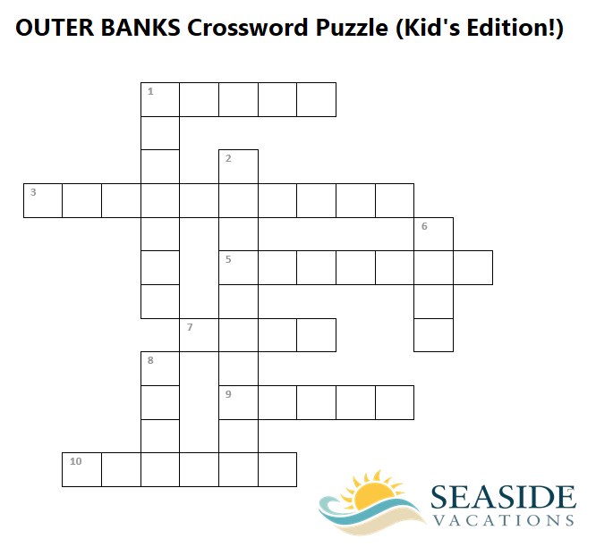 Outer Banks Crossword Puzzle Outer Banks Travel Blog