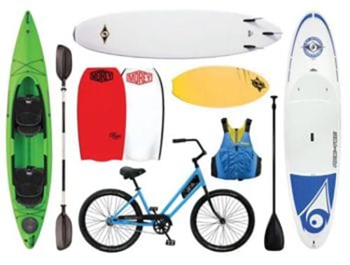 adventure gear rentals