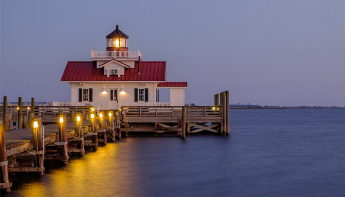 top 10 selfie spots - roanoke marshes lighthouse