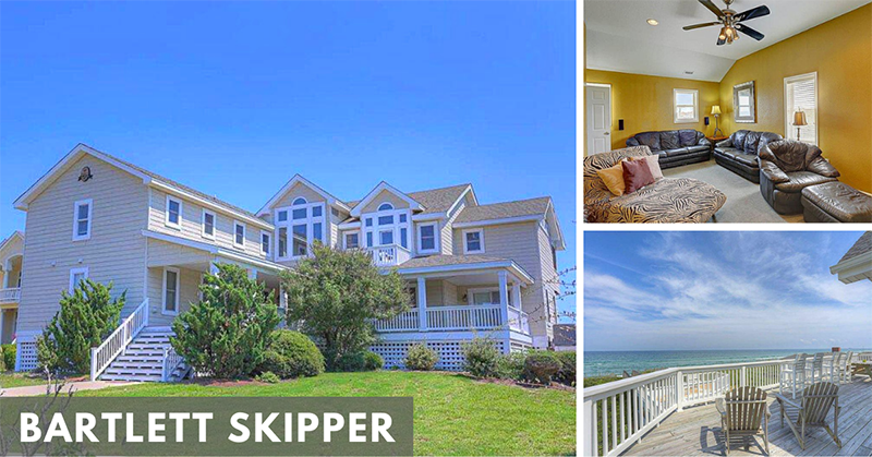 Seaside Vacations Homes w/ Theater Rooms - Bartlett Skipper