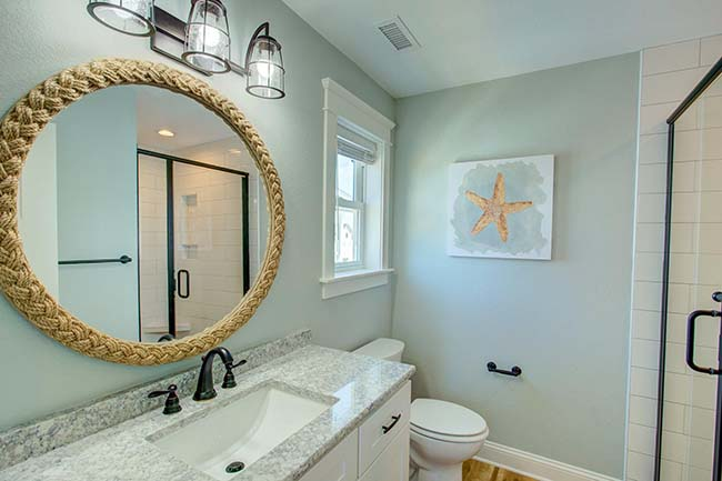 obx interior design tips - don't leave the walls blank