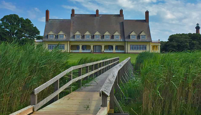 Spooky Places OBX - Whalehead Club