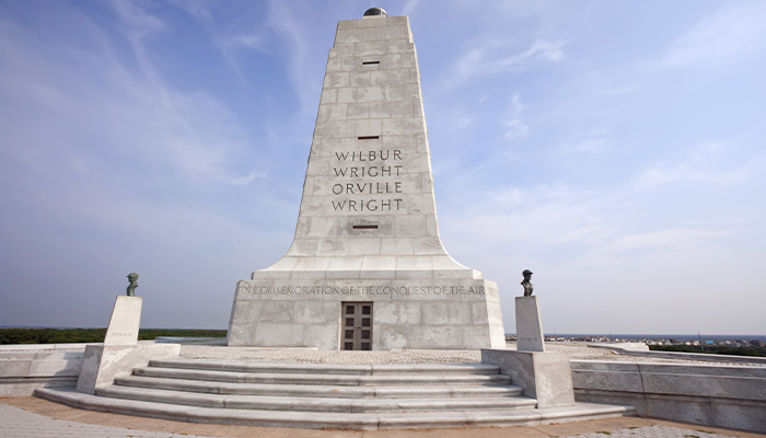 top 10 selfie spots - wright brothers national monument